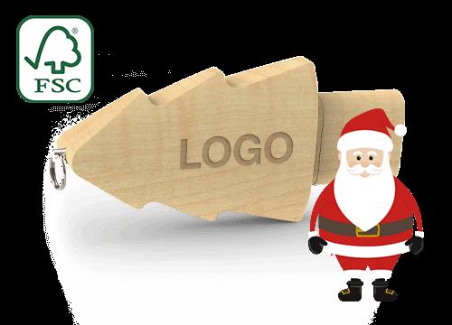 Christmas - Custom Christmas Tree USB Flash Drive
